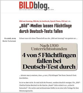 """Zahlenhubereien mit plakativen Wirkungen: Wenn BILD mal wieder zu rechnen versucht. Am Beispiel """"der"""" Flüchtlingen in """"den"""" Sprachkursen"""